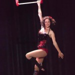 trapeze artist Maria Forster