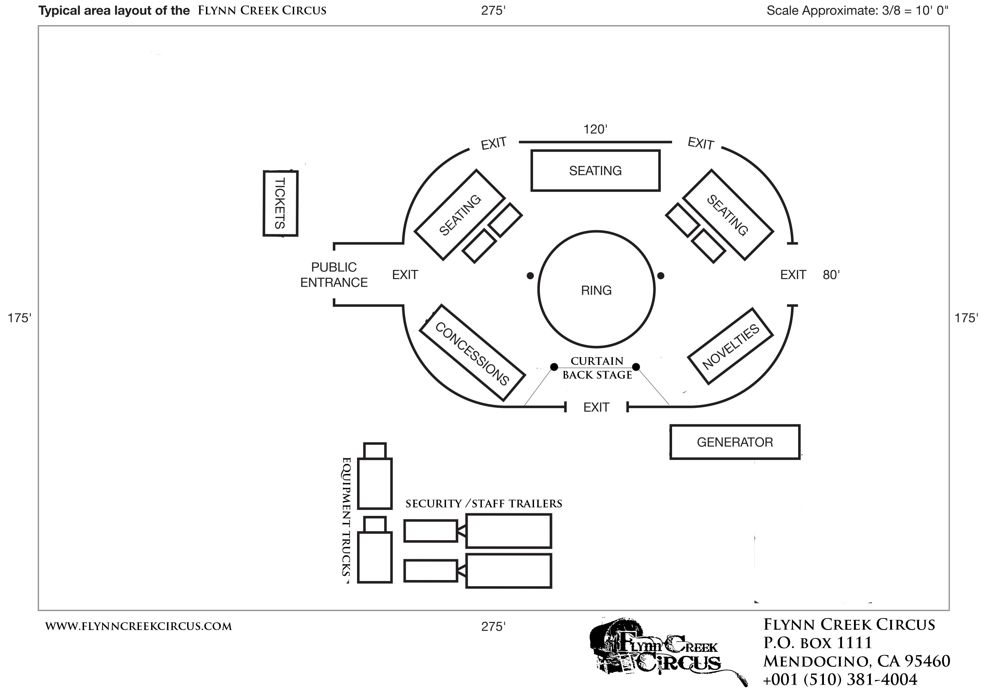 Tent Specifications Flynn Creek Circus
