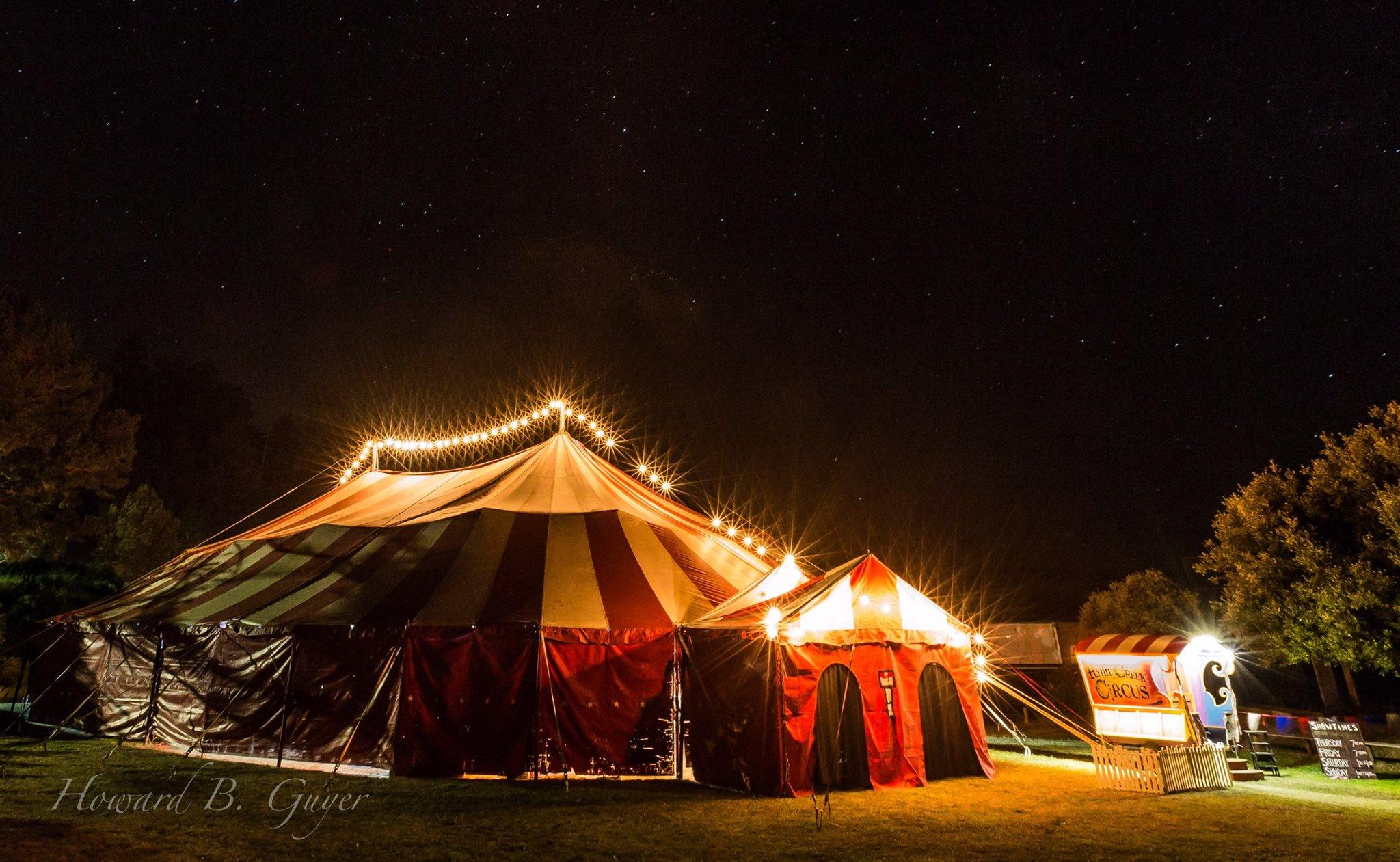 Vintage Big Top Flynn Creek Circus
