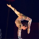 Inka Siefer performs Under the Flynn Creek Circus Big Top