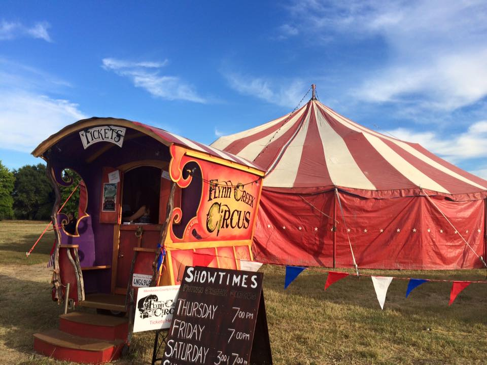 Flynn Creek Circus Bigtop & Vintage Big Top | Flynn Creek Circus